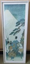 Japanischer Kunstdruck Reiter