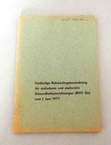 Rahmenhygieneordnung 1977