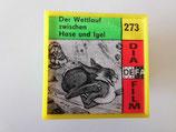 Filmrolle in Plastikbox - Der Wettlauf zwischen Hase und Igel