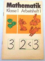 Mathematik Klasse 1 Arbeitsheft 1 - Volk und Wissen Volkseigener Verlag Berlin