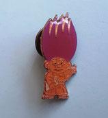 Zaubertroll mit rosa Haaren