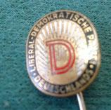Anstecknadel – Liberal Demokratische Partei Deutschlands - DDR