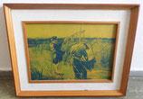 Fotodruck Fischer im alten Rahmen