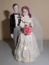 Brautpaar mit Rosen