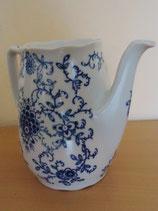 Kaffeekanne ohne Deckel - Strohblume - indischblau - Eisenberg Porzellan