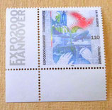 Briefmarke - Expo 2000 Hannover - 1.6.-31.10.2000