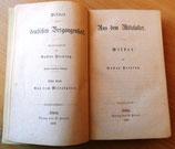 Gustav Freytag - Bilder aus der deutschen Vergangenheit - Verlag von S. Hirzel Leipzig 1867