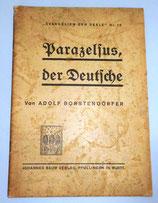 Prazelsus, der Deutsche - Adolf Borstendörfer - Johannes Baum Verlag Pfullingen in Württ