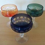 Likörglas - Kristallglas - versch. Farben