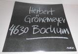 Herbert Grönemeyer 4630 Bochum