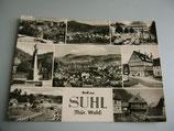 Ansichtskarte - Gruß aus Suhl (Thür.Wald)