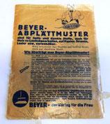"Beyer-Abplättmuster - Beyer-der Verlag für die Frau - Nr. 11467/III ""Feldblumen"""