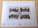 Briefmarkenbogen - 750 Jahre Berlin - Deutsche Bundespost 1987