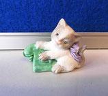 Katzen Figur