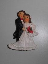 Brautpaar zum Ankleben
