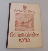 Heimatkalender Kreis Herzberg 1954