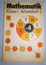 Mathematik Klasse 1 Abreitsheft 2 - Volk und Wissen Volkseigener Verlag Berlin