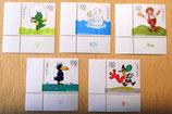 Briefmarken - Für die Jugend - 5 Stück