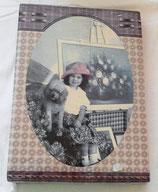 Fotoalbum - Mädchen mit Hund - Memo Cards