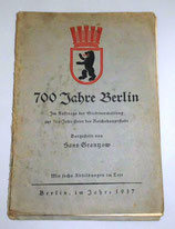 700 Jahre Berlin - Hans Grantzow - 1937