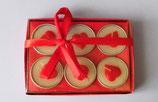 Teelichter rote Herzen