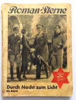 Roman-Sterne - Durch Nacht zum Licht - Band 82 - Verlag A. Bergmann Leipzig