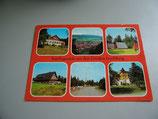 Ansichtskarte - Ausflugsziele um den Großen Inselsberg