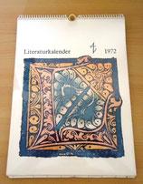 Literaturkalender 1972 - 5. Jahrgang - Aufbau-Verlag Berlin und Weimar 1971