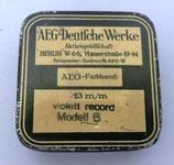 Kleine Blechdose - AEG-Deutsche Werke