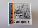 Filmrolle in Plastikbox - Koko greift ein