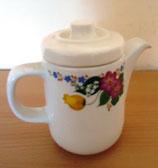 Kleine Keramik Teekanne/Kaffeekanne - Steingutfabrik Torgau DDR