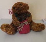 Xmas Stroh - Teddybär