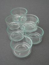 TL-Gläser, 5 Stück