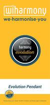 "Produktflyer ""harmony Evolution Pendant"""