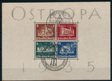 Deutsches Reich -1935 - Ostropa Ausstellung, Michel Block 3