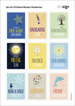 Set mit Einfach-Wunder-Postkarten
