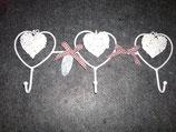 Handtuchhalter Herz