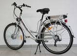 Power Pedelec Damenfahrrad, Alu-E-Bike 28; Einstiegshöhe nur ca. 48cm