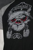 Orginal Shirt Asoziale Rangruppe (Monkey Brust und Rücken)