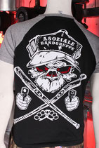 Orginal Shirt Asoziale Rangruppe (Monkey Rücken & Brust)
