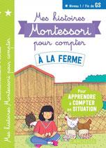 Mes histoires Montessori pour compter