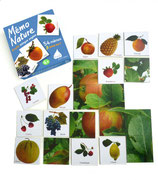Mémo Nature Fruits bilingue anglais