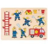 Puzzle pompiers à empiler