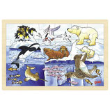 "Puzzle ""animaux polaires"""