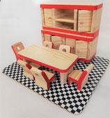 Maison de poupées : salle à manger