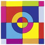 Cube mosaïque