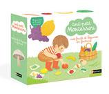Tout-petit Montessori : mes fruits et légumes en feutrine / mes instruments de musique en feutrine
