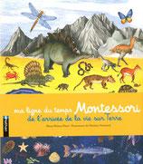 Ma ligne du temps Montessori : de l'arrivée de la vie sur Terre