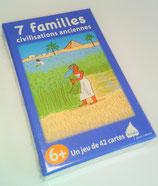 """Jeu des 7 familles """"civilisations anciennes"""""""