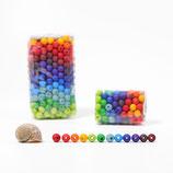 Petites perles colorées Grimm's par 120